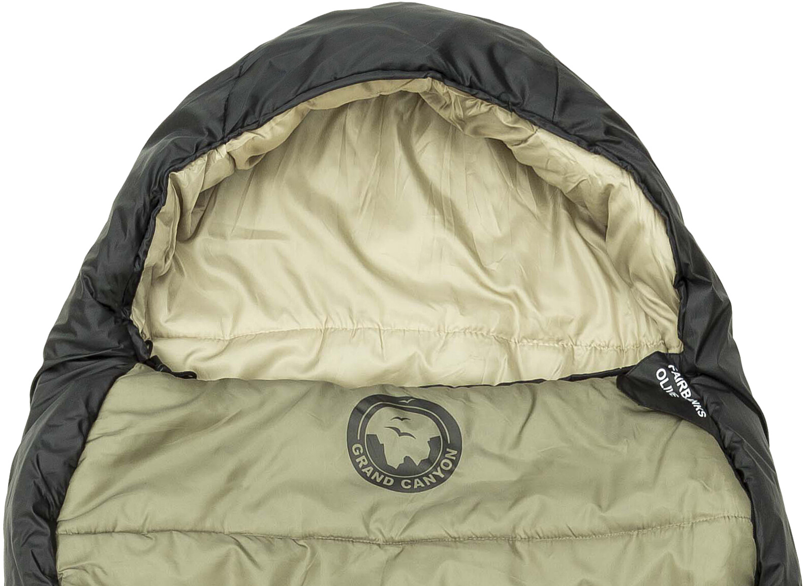 newest 4e671 dc652 Grand Canyon Fairbanks 190 Sleeping Bag olive